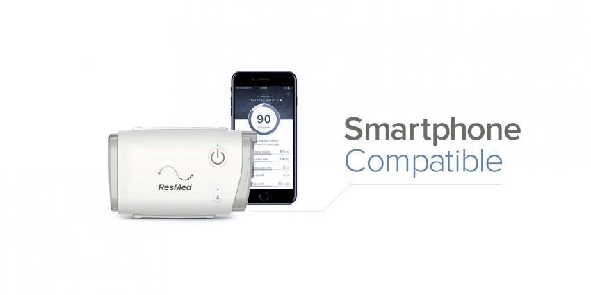 ResMed presents the smallest portable CPAP machine in the world