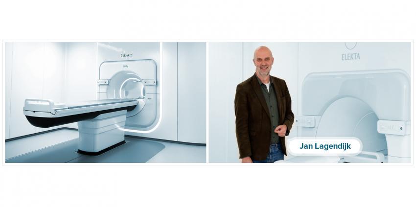 Elekta a réuni un accélérateur linéaire avec  un scanner d'IRM dans un seul système