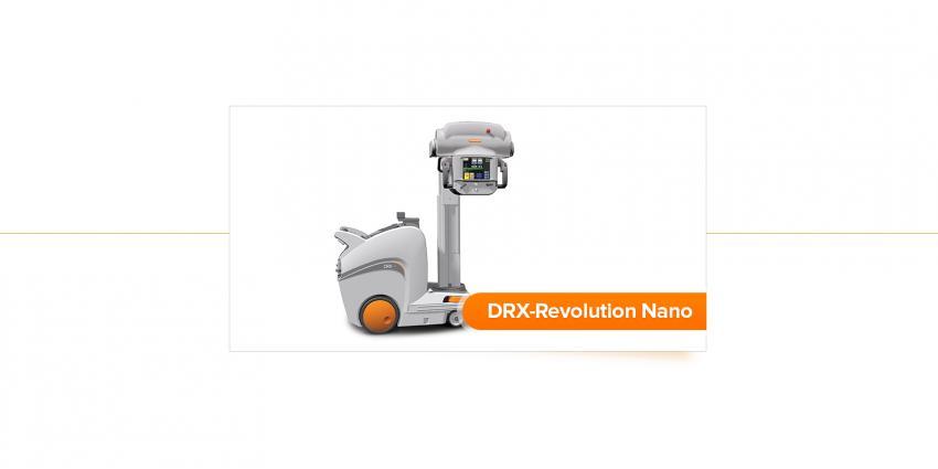 Carestream Health запустили мобільну рентгенівську систему DRX-Revolution Nano