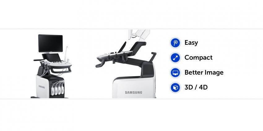 Samsung präsentierte zwei neue Ultraschallsysteme
