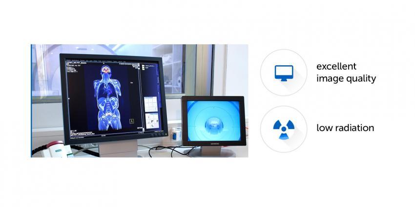 La société Siemens Healthineers a présenté le scanner SPECT/CT Symbian Intevo Bold