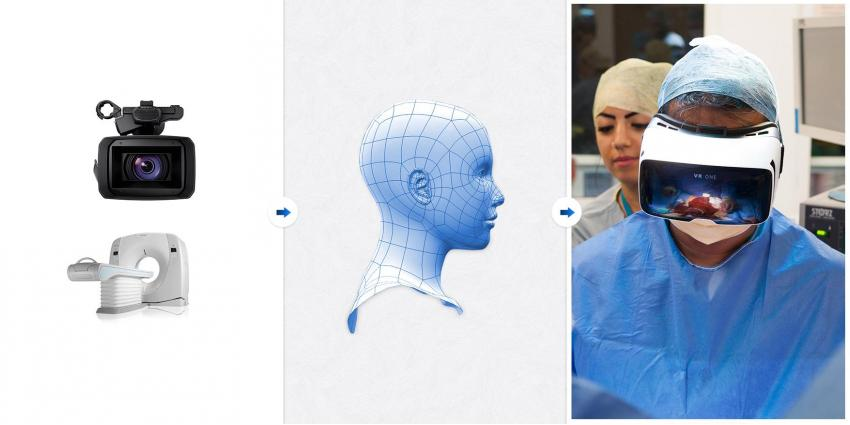 Es wurde die erste Operation mit 3D-Brille durchgeführt