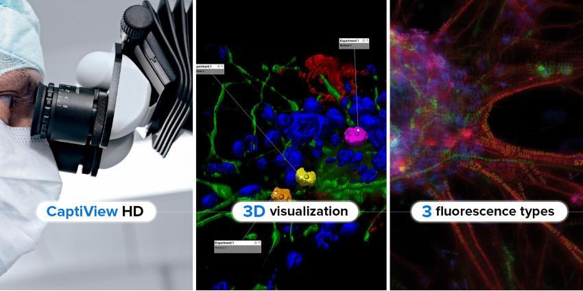 Leica presenta nuevas tecnologías de visualización AR para microscopios quirúrgicos