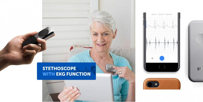 Eko DUO – a new portable stethoscope with EKG function