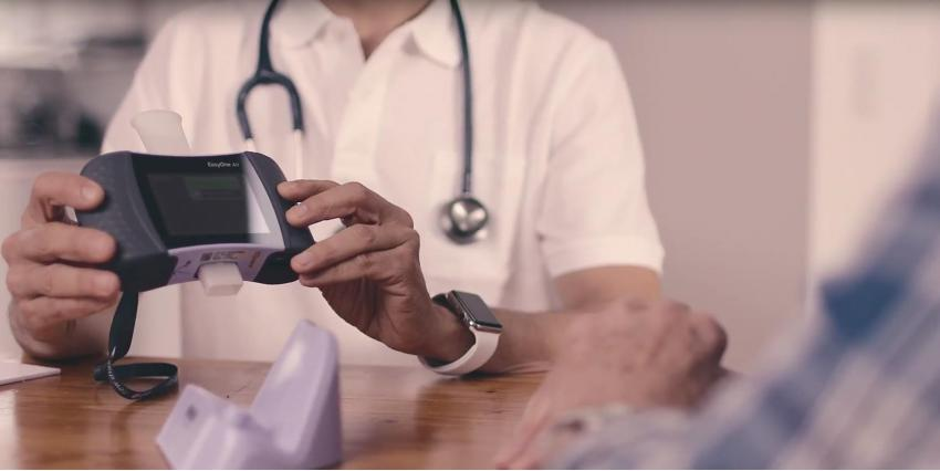 EasyOne Air: a contactless spirometer from ndd Medical