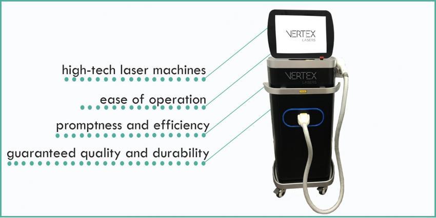 De nouvelles tendances dans la cosmétologie matérielle de Vertex Lasers