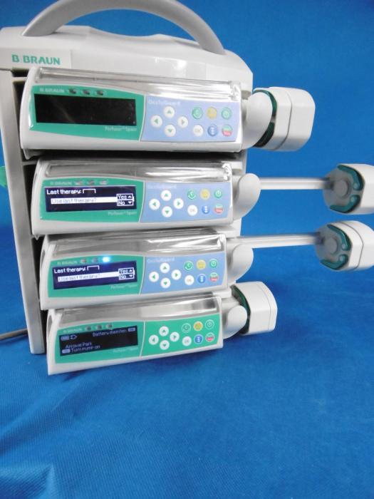 Used BBRAUN Space IV Infusion Pump For Sale - Bimedis ID735410