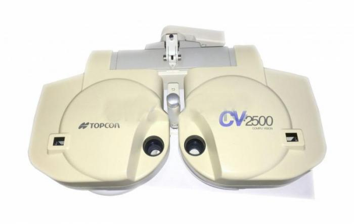 Phoropter Topcon CV 2500 for PC without remote, but incl  power pack