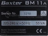 Used BAXTER BM 11a and BM14 For Sale - Bimedis ID1354712