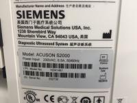 Photo SIEMENS ACUSON S2000 Ultrasound Machine - 12
