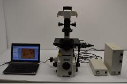 Used NIKON Eclipse TE2000-U Laboratory Microscope For Sale