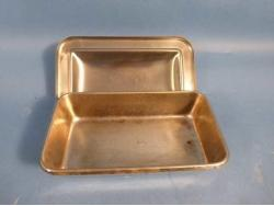 VOLLRATH stainless steel tray with lid - Bimedis - 1