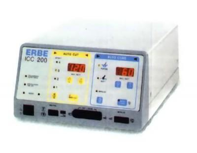 used erbe icc 200 electrosurgical unit 1800 id1049554 rh bimedis com Instruction Manual Owner's Manual