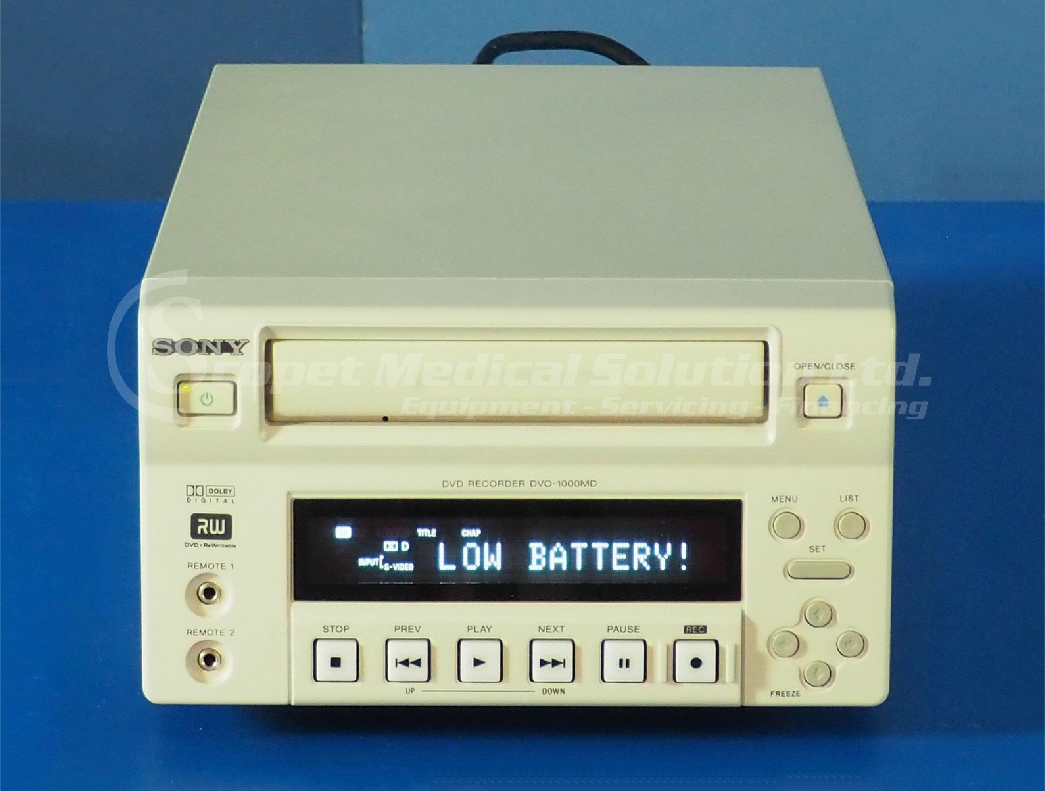 Sony Dv0 1000md Medical Recorder For Sale Bimedis Id1250509