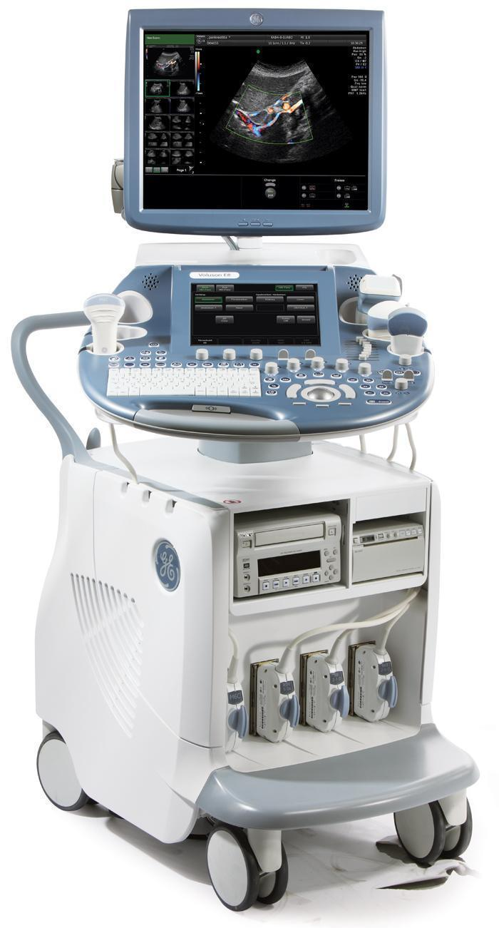 GE Voluson E8 Expert (HD Live) Ultrasound Machine
